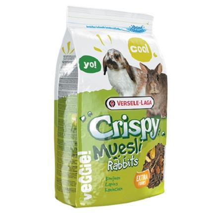 Versele-Laga Rabbits Crispy Muesli za kunce - 1 kg