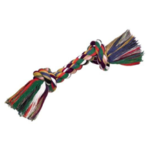 Nobby igralna vrv z dvema vozloma, barvna - 180 g