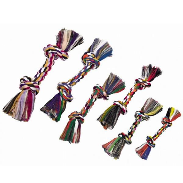 Nobby igralna vrv z dvema vozloma, barvna - 270 g
