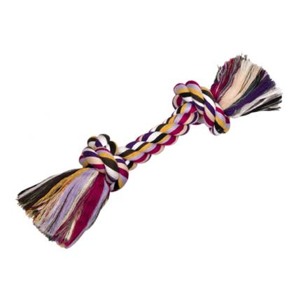 Nobby igralna vrv z dvema vozloma, barvna - 390 g