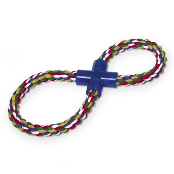 Nobby igralna vrv v obliki osmice, barvna
