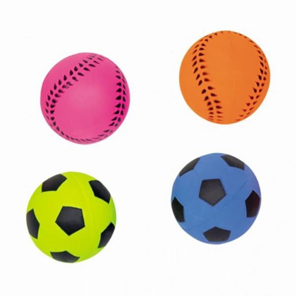 Nobby Moosgummi nogometna žoga - 6 cm