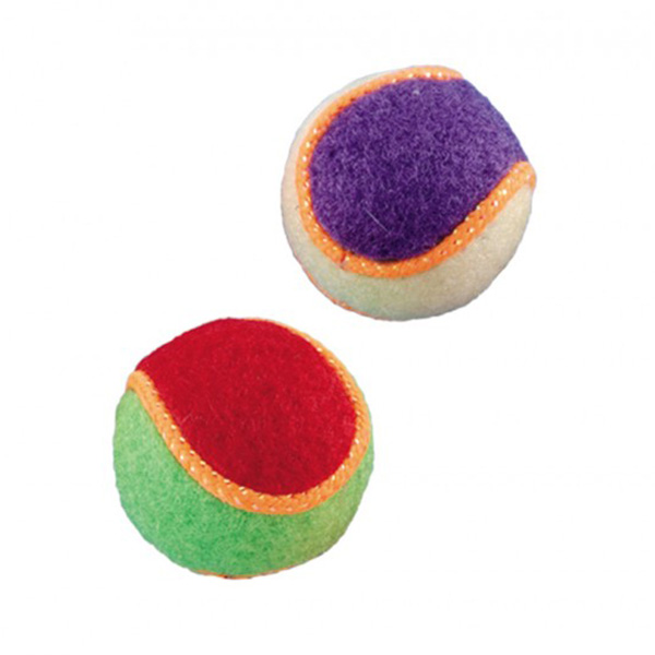 Nobby žoga tenis, 2 kos - 4,5 cm