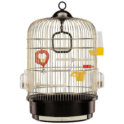 Ferplast kletka za ptice Regina, zlata