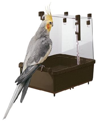 Nobby kopalnica za srednje papige