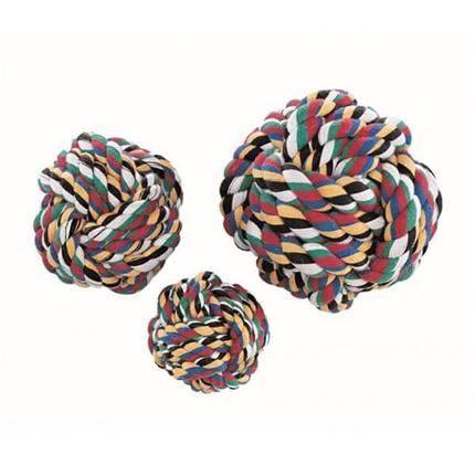 Nobby pletena žoga, pisana - 5 cm
