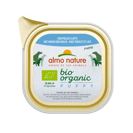 Almo Nature Bio Organic Puppy - piščanec - 100 g