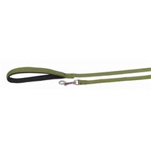 Nobby sledni povodec 15 mm / 10 m- zelen