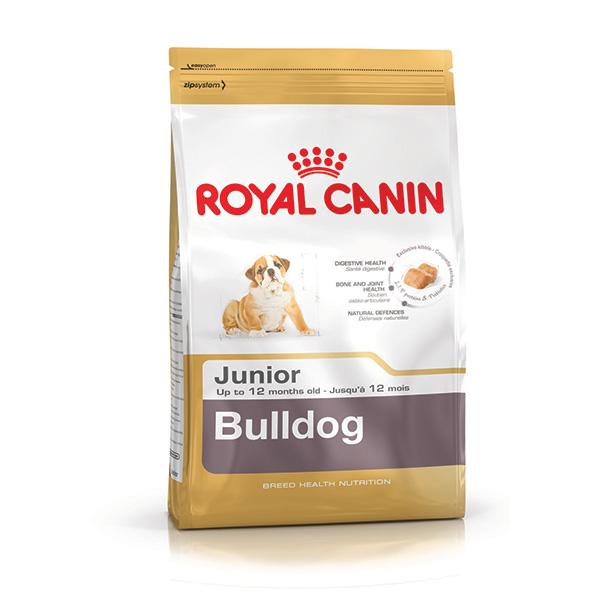 Royal Canin Buldog Junior - perutnina - 3 kg