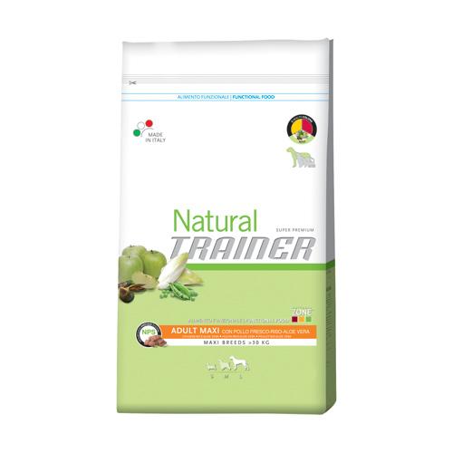 Trainer Natural Adult Maxi - piščanec, riž in aloa - 12,5 kg