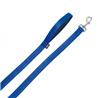 Nobby Soft Grip povodec - moder - 120 cm 20 mm