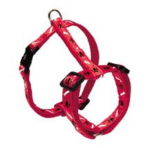 Nobby oprsnica Mini, 10 mm / 20-35 cm – rdeča