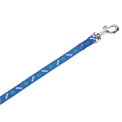 Nobby povodec Mini, 10 mm / 120 cm – modra