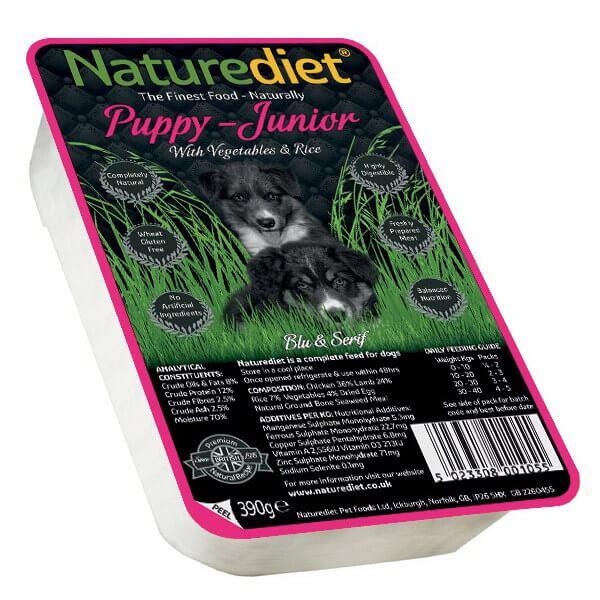Naturediet Puppy & Junior - 390 g