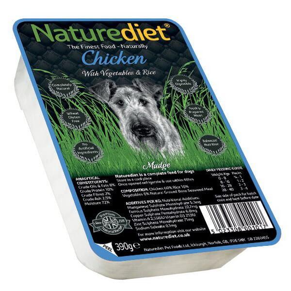 Naturediet - piščanec - 390 g