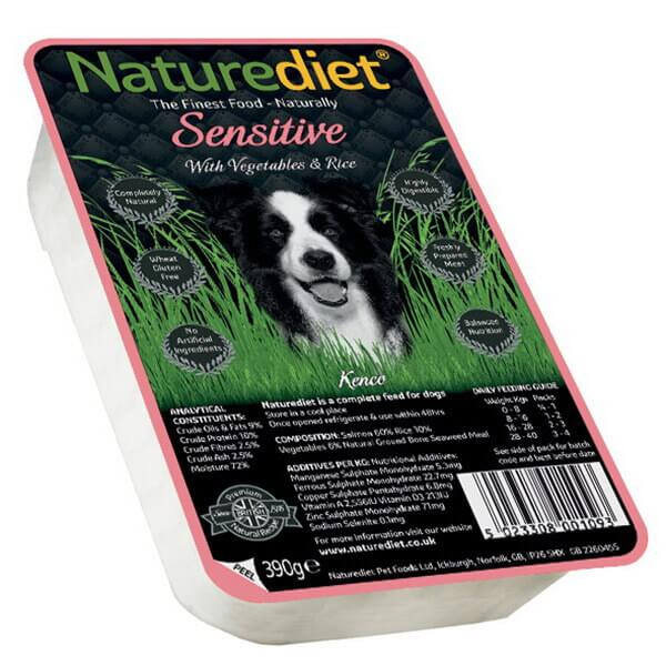 Naturediet Sensitive - losos - 390 g