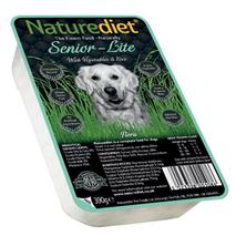 Naturediet Senior Light - piščanec in puran - 390 g