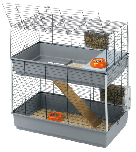 Ferpalst kletka za kunce Rabbit 100, dvojna – 99 x 51 x 97 cm