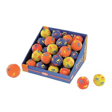 Nobby teniška žoga s tačkami - 7,5 cm