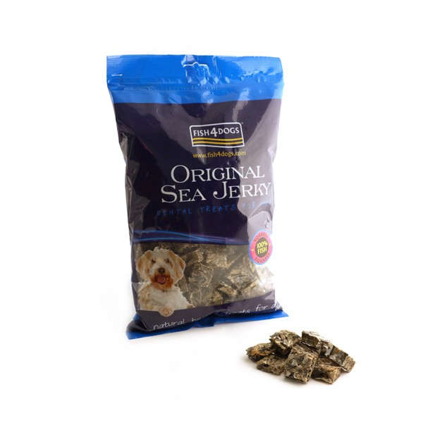 Fish4Dog Sea Jerky poslastica - 100g