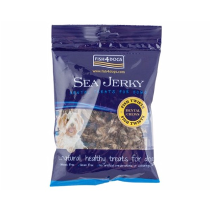 Fish4Dogs Sea Jerky, svedri - 100 g