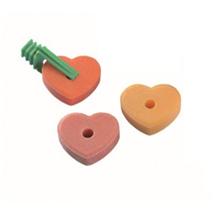 Nobby mineralni kamen srce z nosilcem - cca. 3 x 30 g