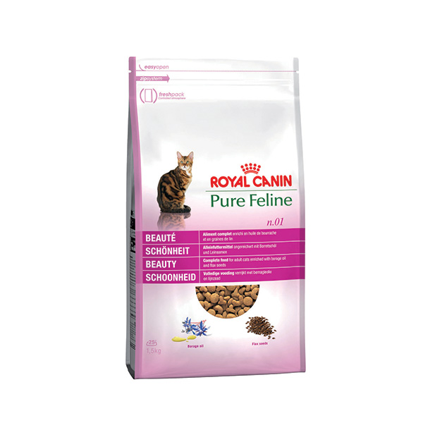 Royal Canin Pure Feline Beauty - raca - 300 g