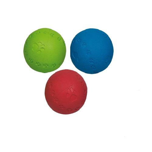 Flamingo gumi žoga z zvokom - 10 cm