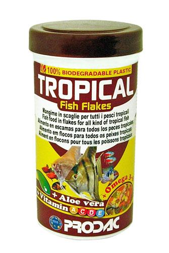 PRODAC TROPICAL FISH FLAKES 250 ml  50 gr