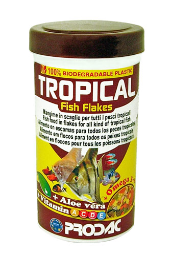 PRODAC TROPICAL FISH FLAKES 250 ml  50 gr