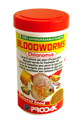Prodac Bloodworms Chyronomus - 250 ml / 20 g
