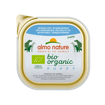 Almo Nature Bio Organic Puppy - piščanec - 300 g