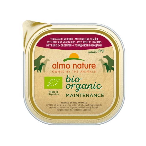 Almo Nature Bio Pate - govedina in zelenjava - 300 g