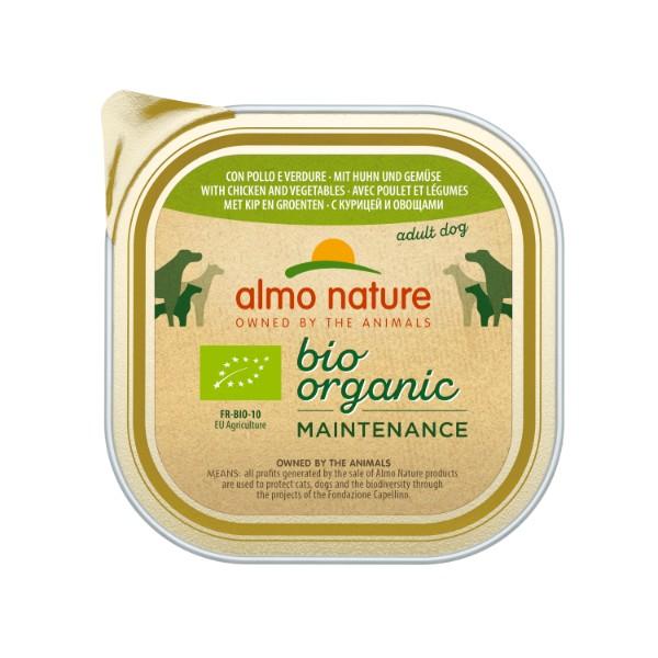 Almo Nature Bio Pate - piščanec in zelenjava - 300 g
