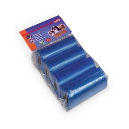 Nobby drečke (vrečke za pasje iztrebke) Refil 4 x 15kos - modre