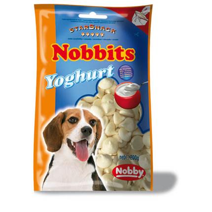 Nobby Starsnack Nobbits jogurtovi dražeji – 200 g