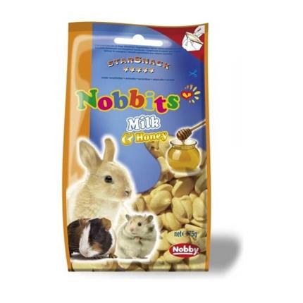 Nobby Nobbits draže mleko in med - 75 g