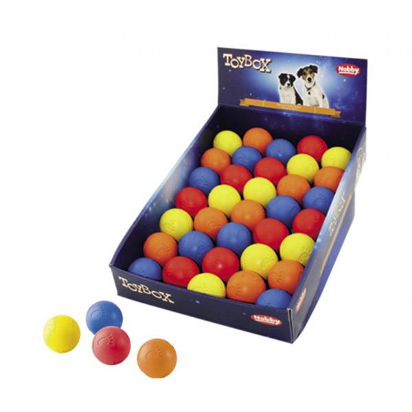 Nobby gumi žoga s tačko - 5 cm