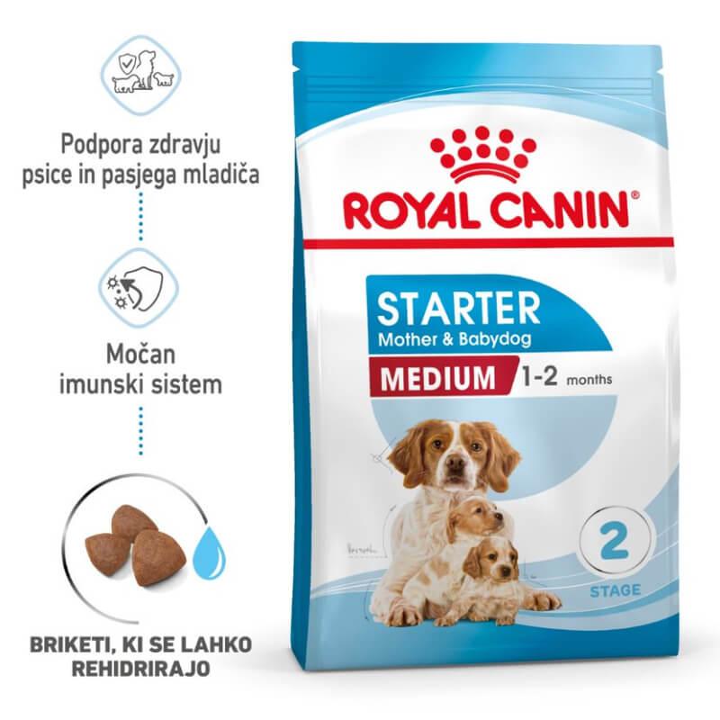 Royal Canin Medium Starter - 4 kg