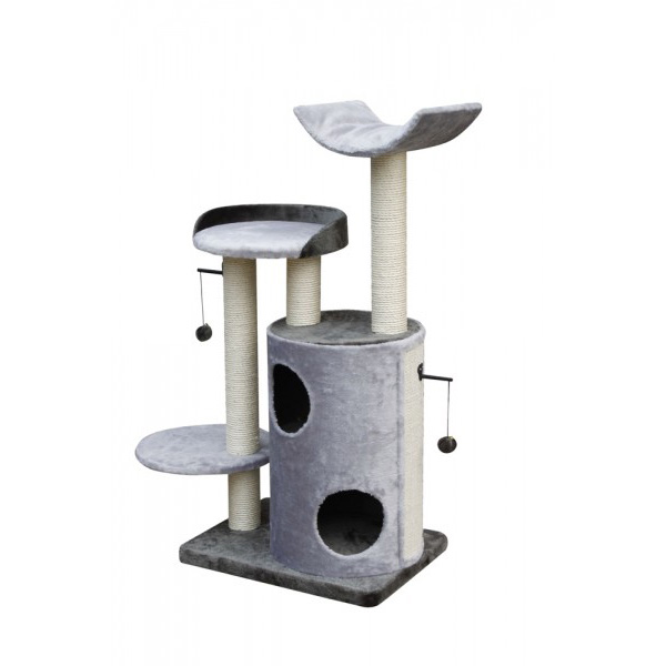 Nobby Jimeta praskalnik za mačke, siv - 120 cm