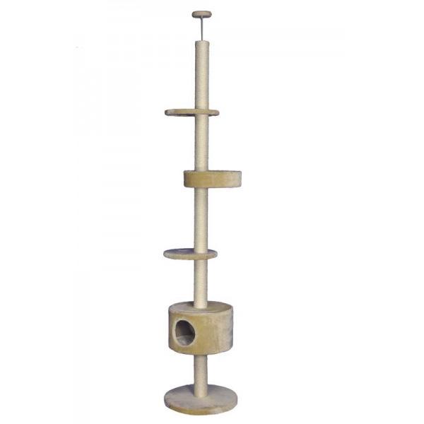 Nobby Diamant I praskalnik za mačke, bež - 245 - 260 cm