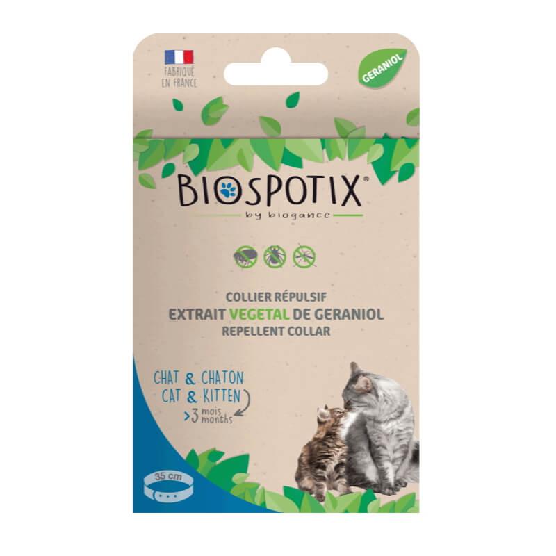 Biospotix ovratnica za mačke in mlade muce - 35 cm
