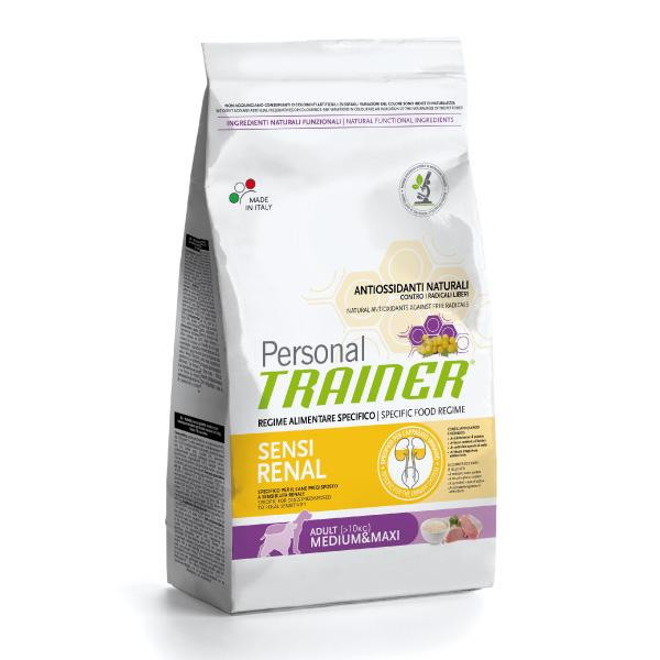 Trainer Personal Sensirenal (ledvice) Medium/Maxi - svinjina in riž 3 kg