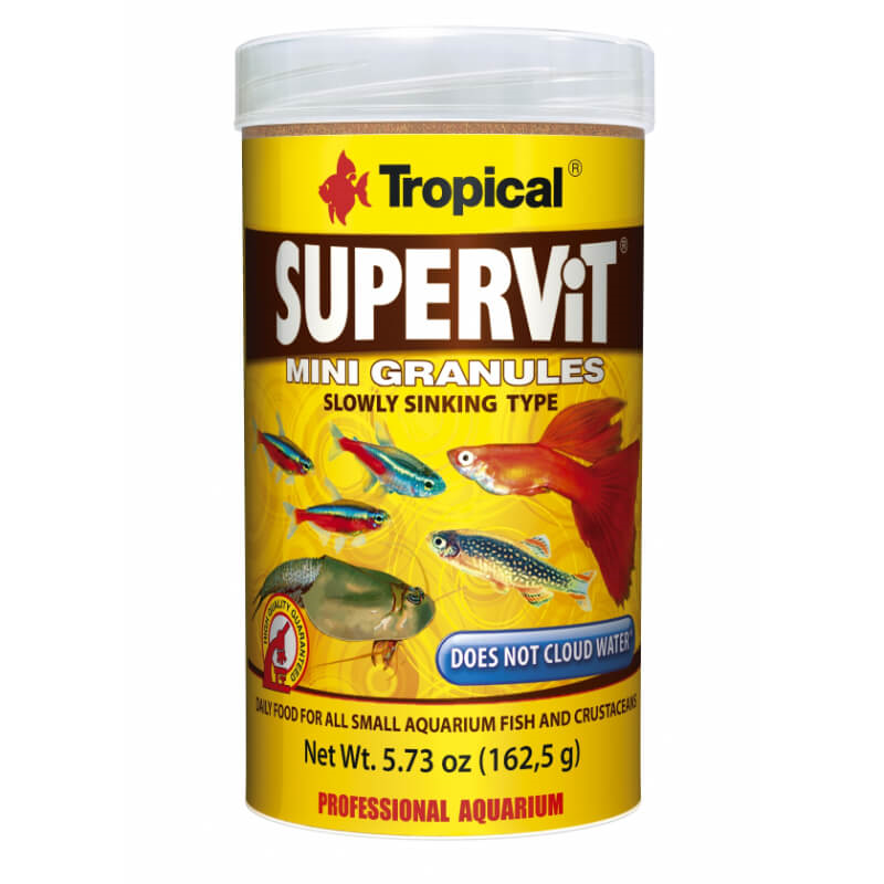 Tropical Supervit Mini granulat - 250 ml / 162 g