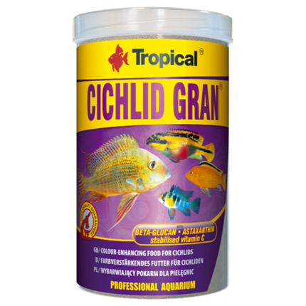 Tropical Cichlid Gran - 250 ml / 138 g