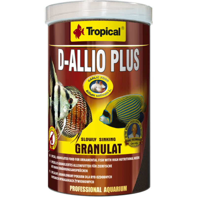 Tropical D-Allio Plus granulat - 250 ml / 125 g