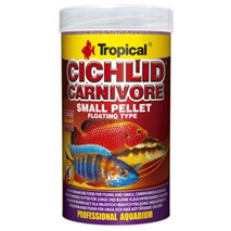 Tropical Cichlid Carnivore Small Pellet - 250 ml / 90 g