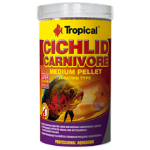 Tropical Cichlid Carnivore Medium Pellet -500 ml / 180 g