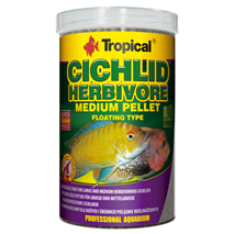 Tropical Cichlid Herbivore Medium Pellet - 500 ml / 180 g