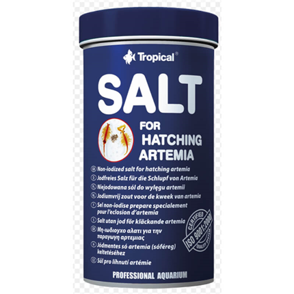 Tropical Salt for Hatching Artemia - 250 ml / 300 g